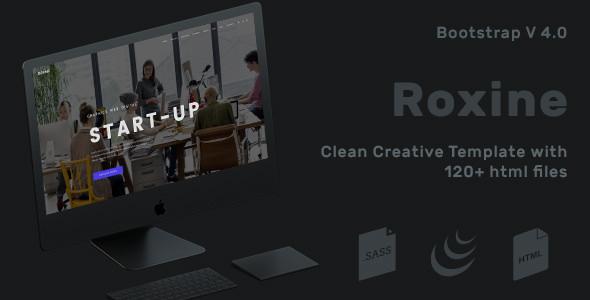 Roxine — Corporate Multi-Purpose HTML Template for Business