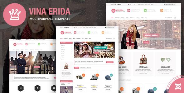 Vina Erida — Multipurpose Joomla 3.x Template