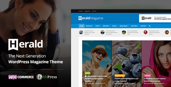 Herald v2.1.1 — News Portal & Magazine WordPress Theme