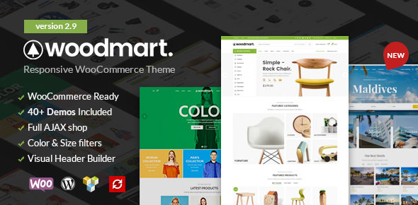 WoodMart v2.9 — Responsive WooCommerce WordPress Theme