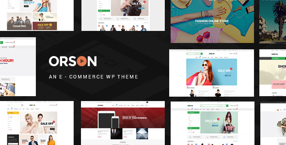 Orson v2.5 — Innovative Ecommerce WordPress Theme