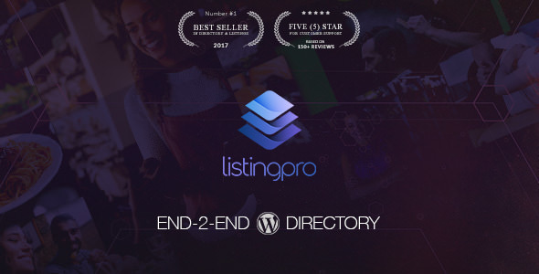 ListingPro v2.0 — Directory WordPress Theme