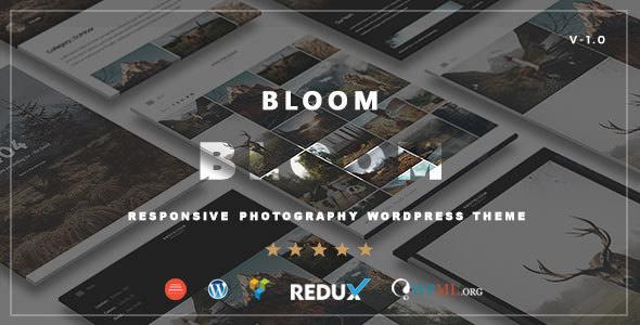 Bloom v1.0 — Responsive Photography / Portfolio Theme