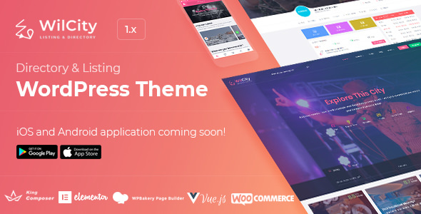 Wilcity v1.0.4.1 — Directory Listing WordPress Theme