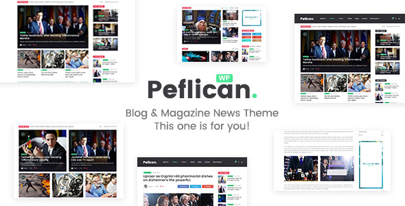 Peflican v1.0.3 — A Newspaper and Magazine WordPress Theme