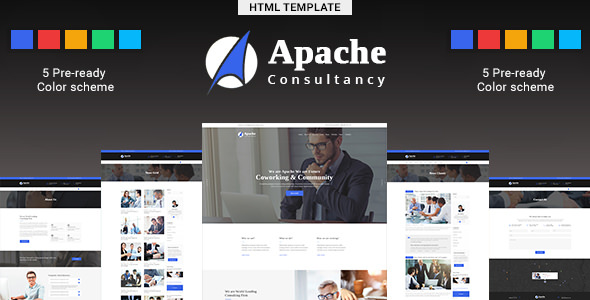 Apache — Business-Consulting HTML Template