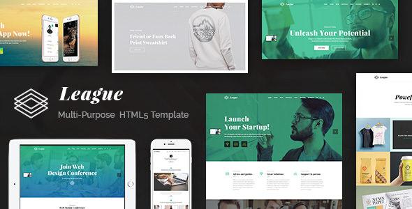 League — Multi-purpose Business HTML Template