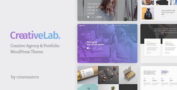 Creative Lab v1.0.7 — Creative Studio Portfolio & Agency