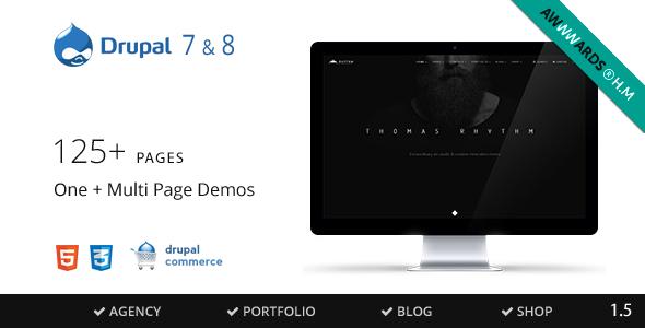 Rhythm v1.7.3 — Drupal 7 & 8 Multipurpose Commerce theme