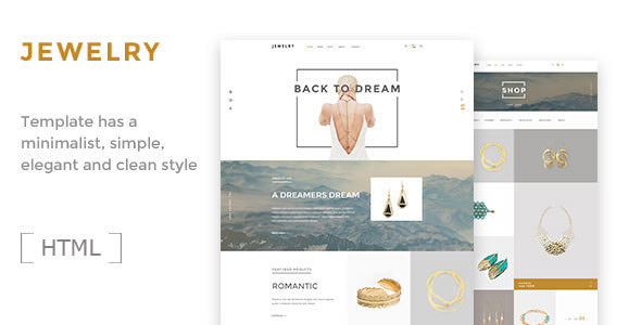 Jewelry — Ecommerce HTML5 Template