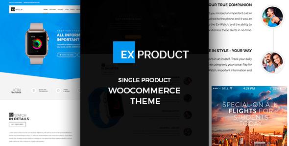 ExProduct v1.0.9 — Single Product theme