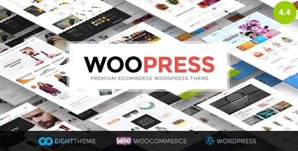 WooPress v4.4 — Responsive Ecommerce WordPress Theme