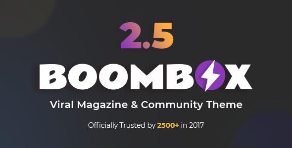 BoomBox v2.5.7.1 — Viral Magazine WordPress Theme