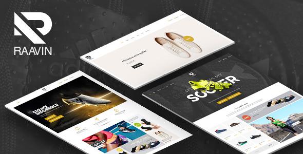 Raavin — Shoes Responsive OpenCart Theme
