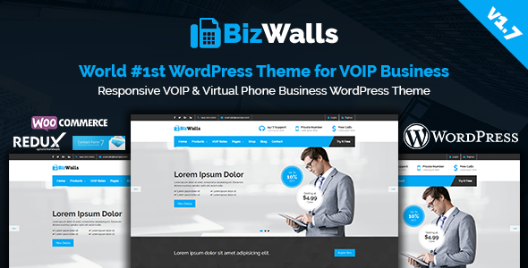 BizWalls v1.7 — Responsive VOIP & Virtual Phone Business