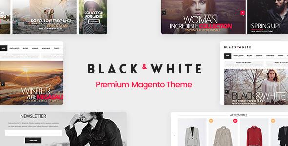 Black&White — Responsive Magento 2.2.x and Magento 1 Theme