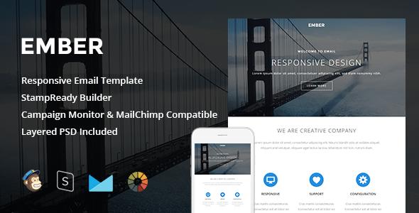 Ember v1.1 — Responsive Email + StampReady Builder