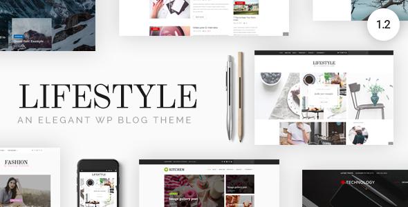 Lifestyle v1.1.5 — Responsive WordPress Blog Theme