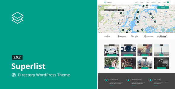 Superlist v2.9.2 — Directory WordPress Theme