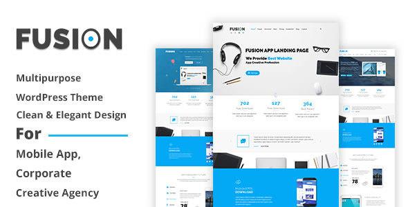 Fusion v1.0 — Responsive Multipurpose WordPress Theme