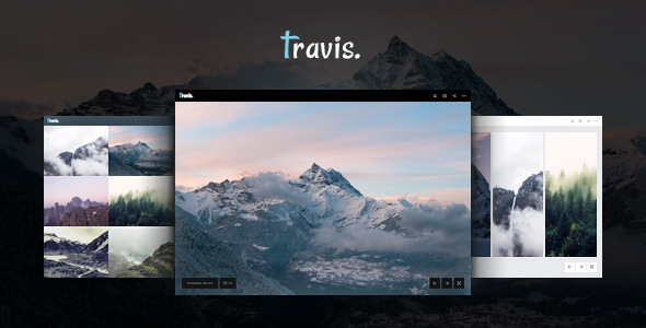 Travis Photo — HTML for Photo Site