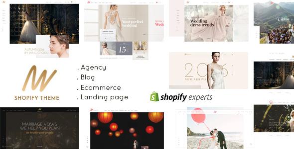 The VOW — Wedding Responsive Shopify Theme