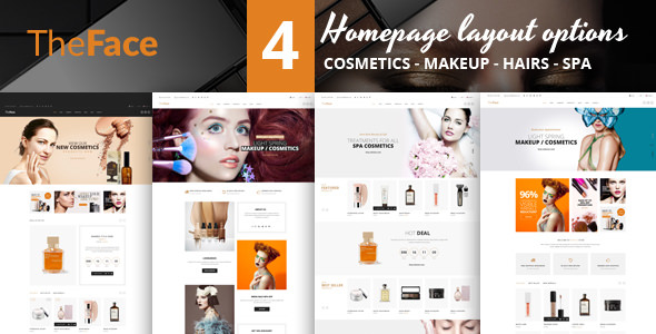 Theface — PrestaShop Theme for Beauty & Cosmetics Store