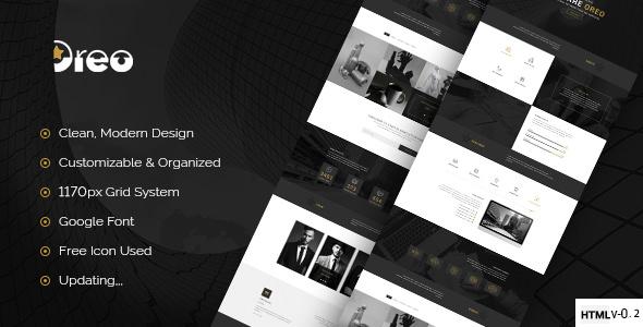 Oreo — Ultimate Creative Landing Page