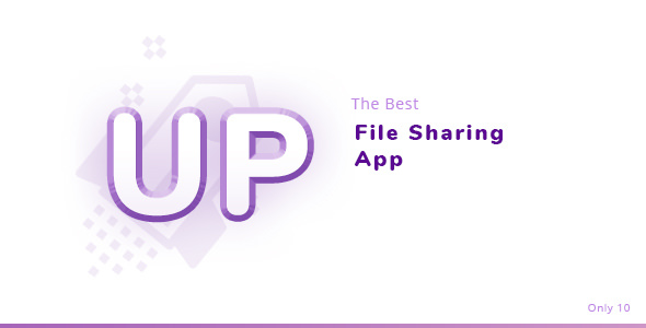 LaraUpload — File Sharing PSD Template
