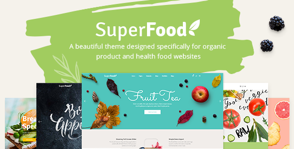 Superfood v1.3.1 — A Vibrant Theme for Organic Food