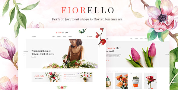 Fiorello — A Flower Shop and Florist WooCommerce Theme