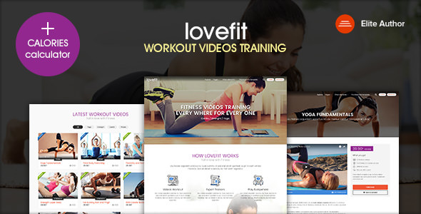 LOVEFIT v1.2 — Fitness Video Training