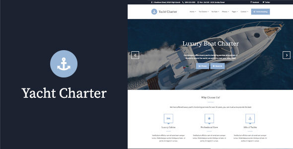 Yacht Charter v1.5.2 — WordPress Theme