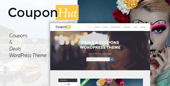CouponHut v2.9.6 — Coupons and Deals WordPress Theme