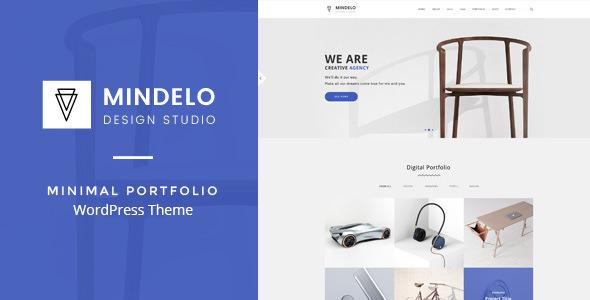 Mindelo v1.2.2 — Minimal Portfolio WordPress Theme