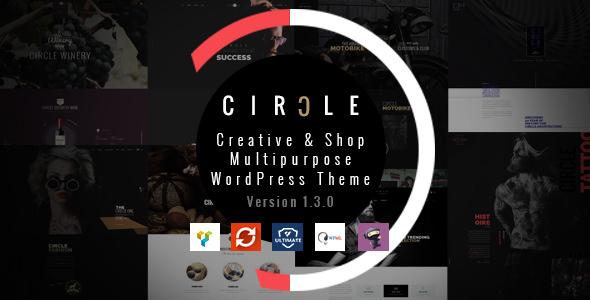 CIRCLE v1.3.6 — Creative Shop Multipurpose WordPress Theme