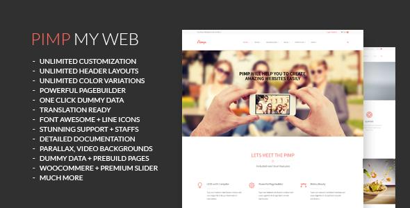 PIMP v1.6.1 — Creative MultiPurpose WordPress Theme