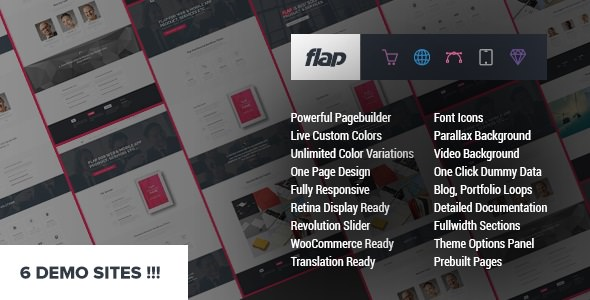 FLAP v1.3.1 — Business WordPress Theme
