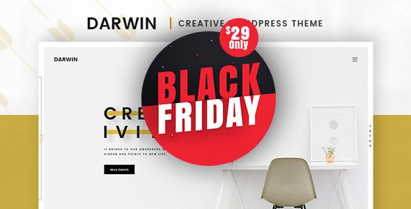 Darwin v1.0.5 — Creative WordPress Theme