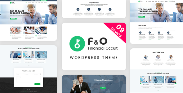 F&O v1.2.0 — Consultant Finance WordPress Theme
