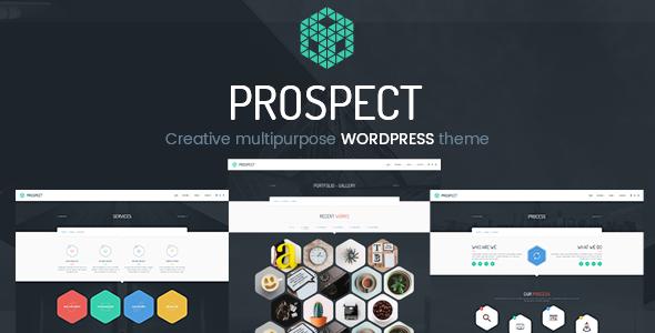 Prospect v1.1.0 — Creative Multipurpose WordPress Theme