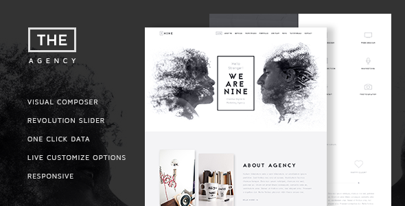 The Agency v1.5 — Creative One Page Agency Theme