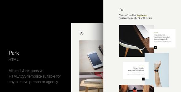 Park — Creative Portfolio HTML Template