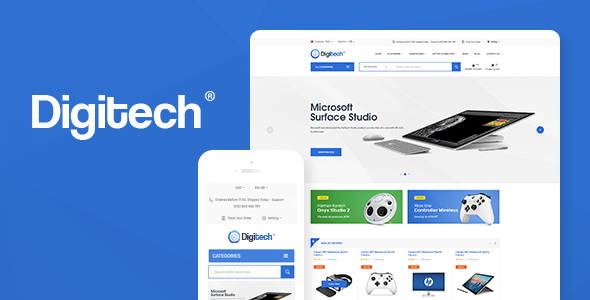 Digitech v1.0.2 — Technology Theme for WooCommerce WordPress