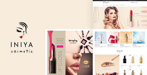 Iniya v1.2 — Cosmetic WordPress Theme