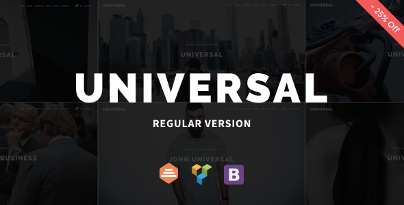 Universal v1.0.6 — Corporate WordPress Multi-Concept Theme