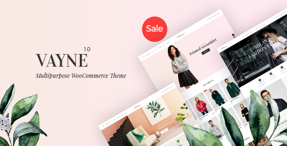 Vayne v1.0.3 — Multipurpose WooCommerce Theme