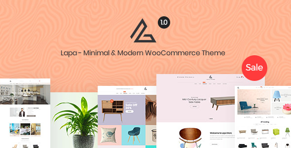 Lapa v1.0.3 — Minimal & Modern WooCommerce Theme