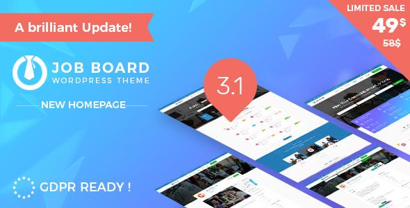 InJob v3.1.2 — Job Board WordPress Theme