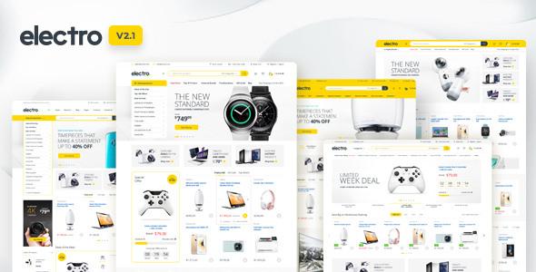 Electro v2.1.0 — Electronics Store WooCommerce Theme